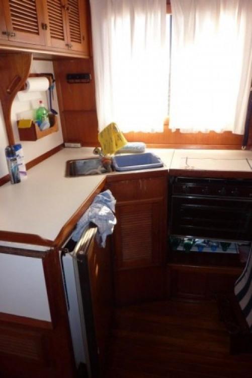 Modern-Yacht Gemar 42s zwischen Privatpersonen und professionellem Anbieter Sant Antoni de Portmany