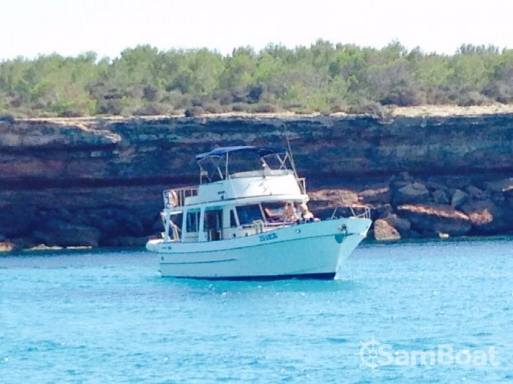 Ein Modern-Yacht Gemar 42s mieten in Sant Antoni de Portmany