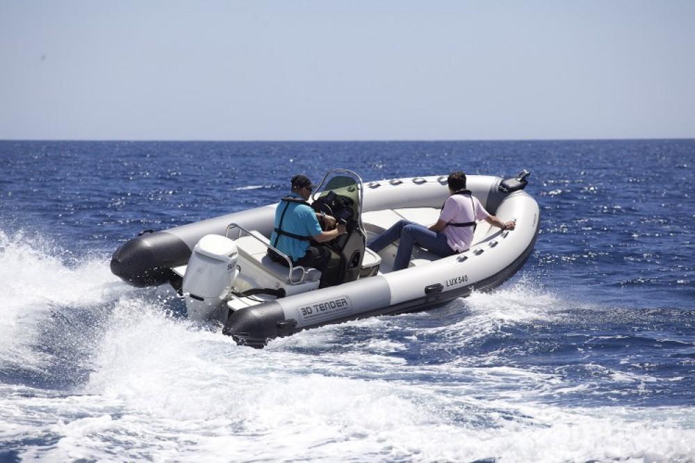 Schlauchboot mit oder ohne Skipper 3D Tender mieten in Porto-Vecchio