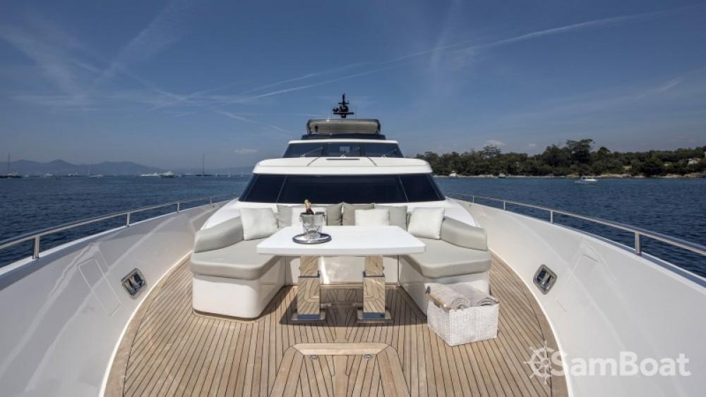 "Yacht-Charter in Antibes - San Lorenzo 29.10 metres (95' 6"") auf SamBoat"
