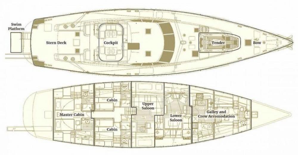 Segelboot mit oder ohne Skipper Pendennis mieten in Antibes