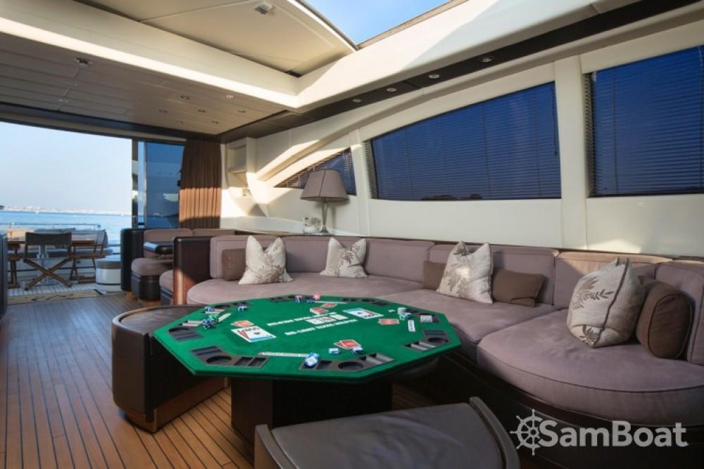 "Bootsverleih Mangusta 28.06 metres (92' 1"") Cannes Samboat"