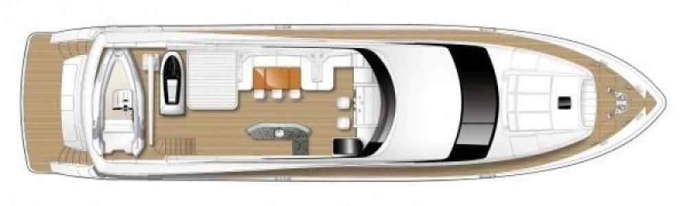 "Bootsverleih Princess 29.40 metres (96' 5"") Antibes Samboat"