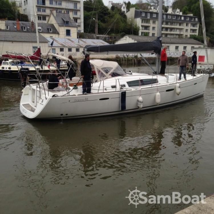 Yacht-Charter in Morlaix - Bénéteau Oceanis 46 auf SamBoat