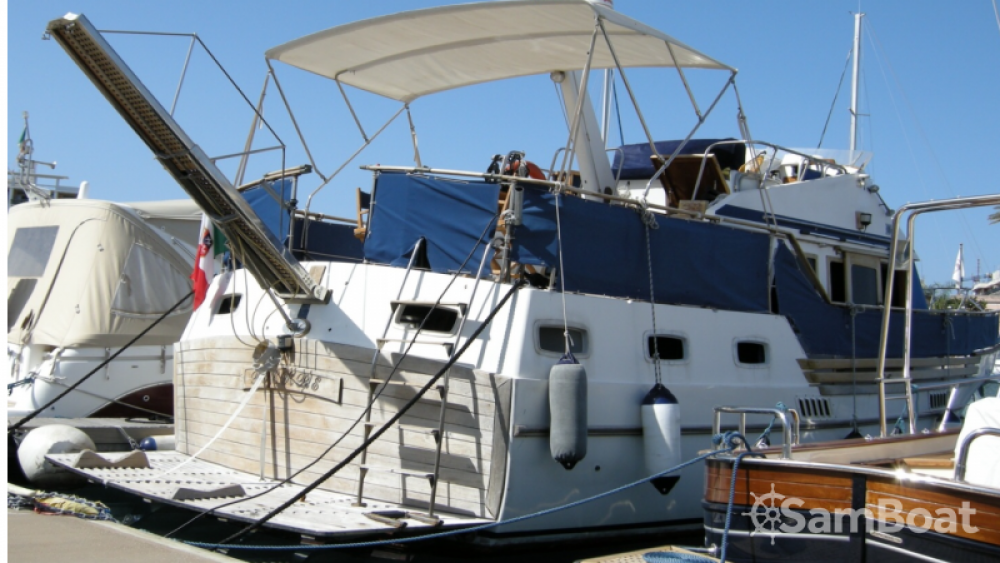 Bootsverleih Milazzo günstig Trawler 40