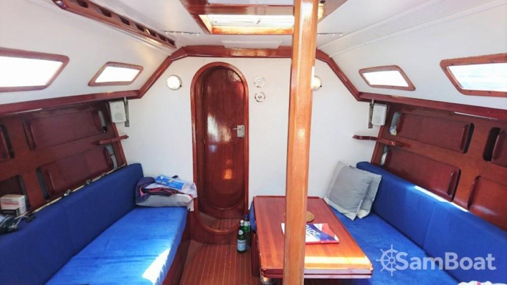 Vermietung Segelboot Comar mit Führerschein