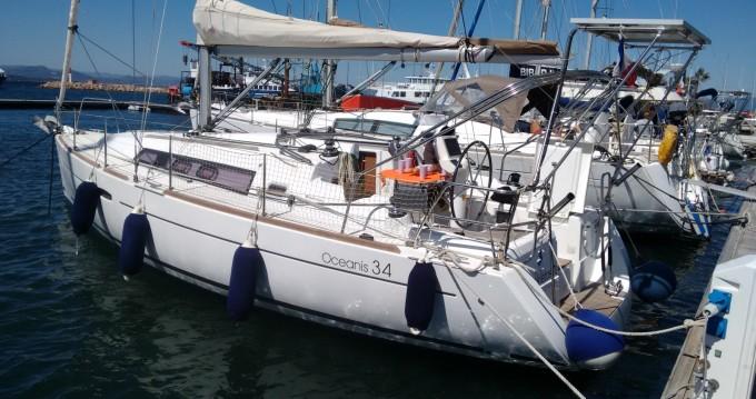 Segelboot mieten in Toulon - Bénéteau Oceanis 34 Elegance