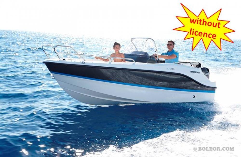 Bootsverleih Boleor B455 'Theia' (no licence) Palma Samboat