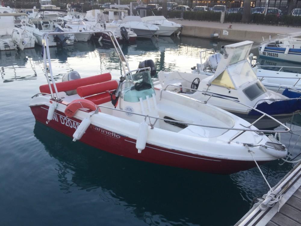Ein Marinello Fisherman 16 mieten in Saint-Laurent-du-Var