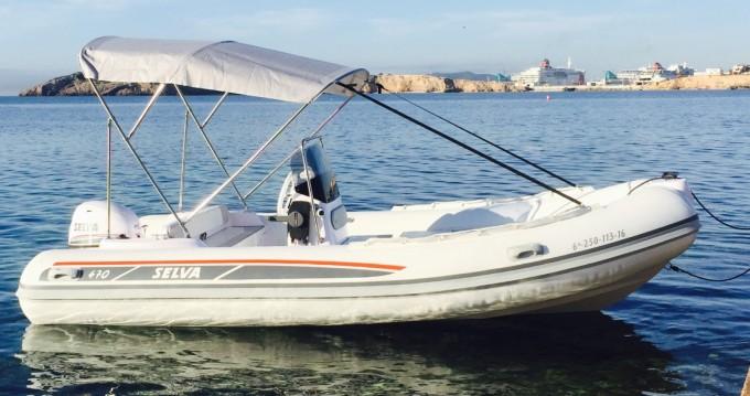 Bootsverleih Ibiza Town günstig Selva D470 AUXILIAR O TENDER