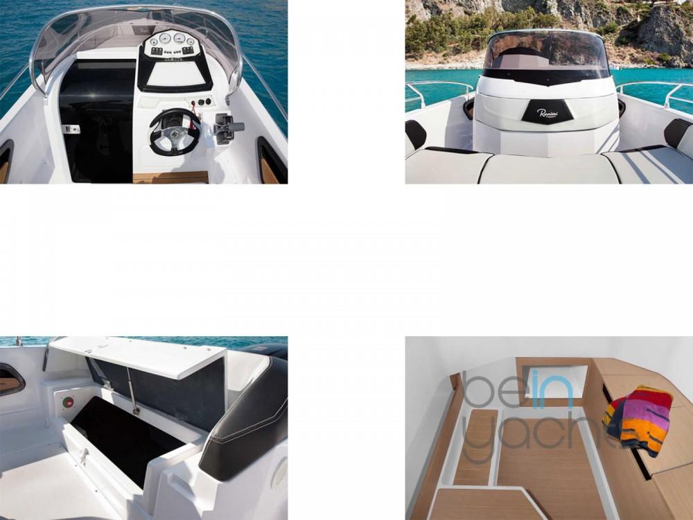 Vermietung Motorboot Ranieri mit Führerschein