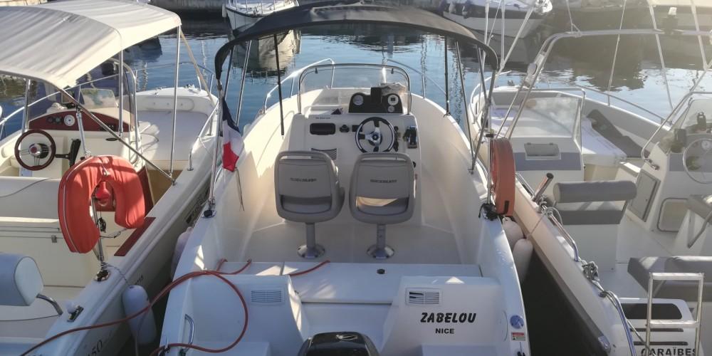 Bootsverleih Quicksilver Activ 535 Open Antibes Samboat