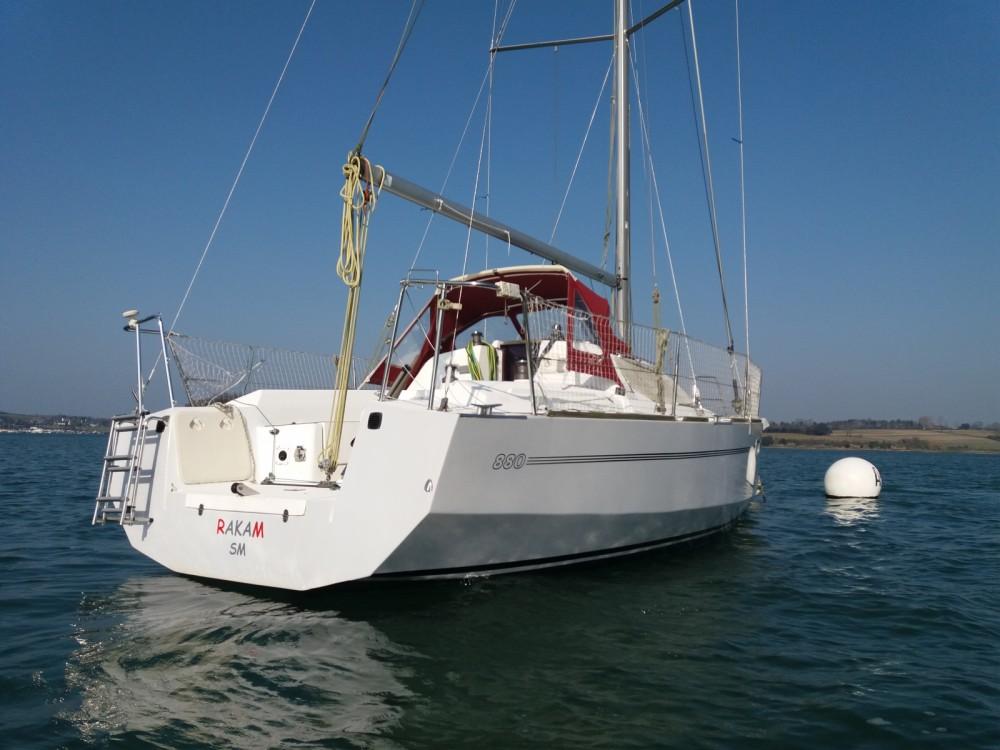 Segelboot mieten in Saint-Malo - Rm RM 880