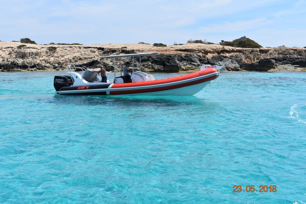 Schlauchboot mieten in Ibiza-Stadt - Sacs Samurai 875
