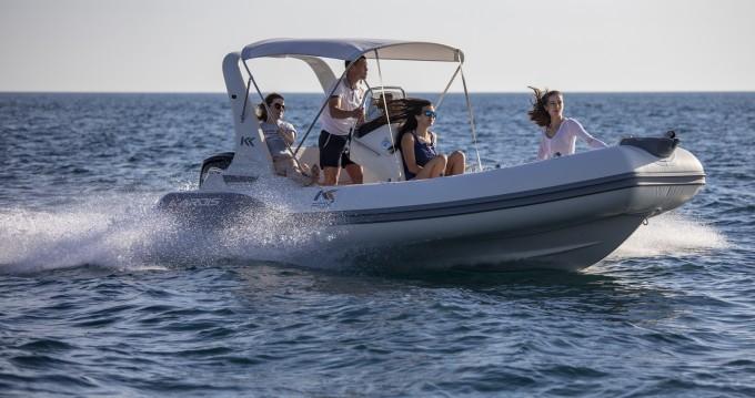 Vermietung Schlauchboot Kardis mit Führerschein