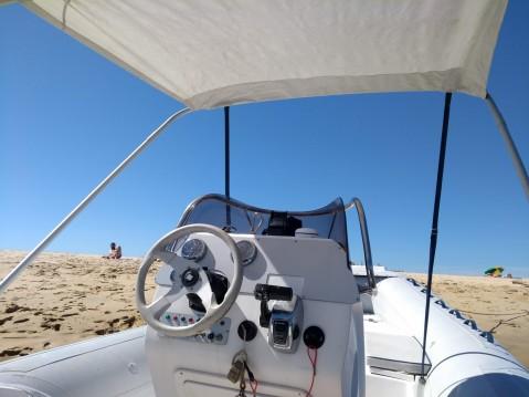 Schlauchboot mit oder ohne Skipper Sacs mieten in Lège-Cap-Ferret