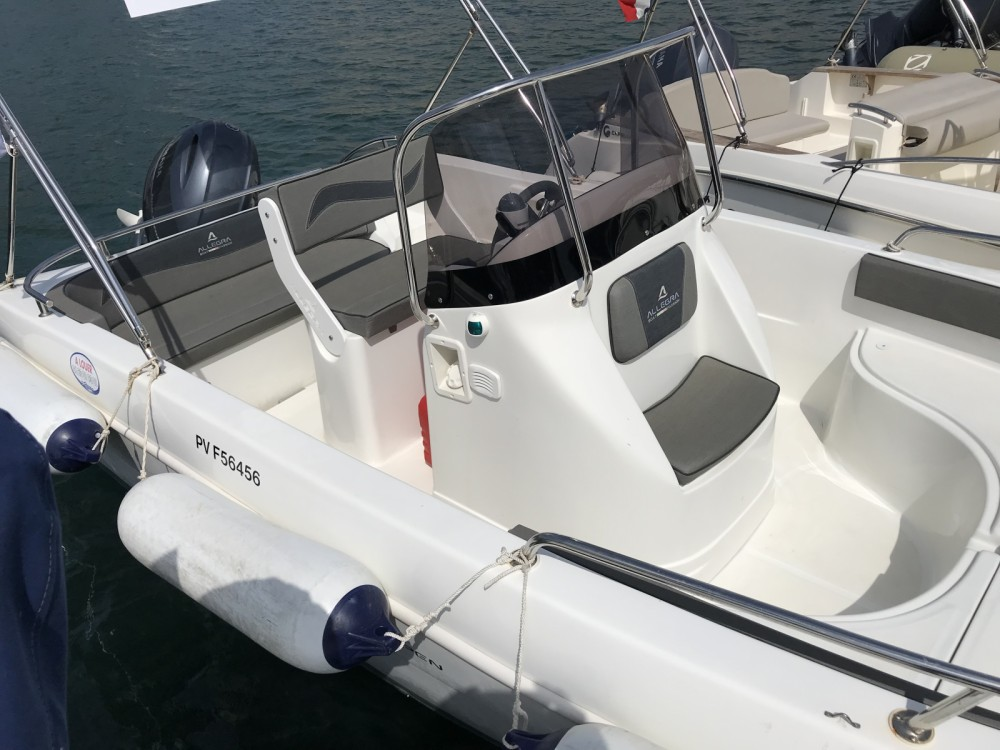 Motorboot mieten in Collioure - Allegra Boats All 19 Open
