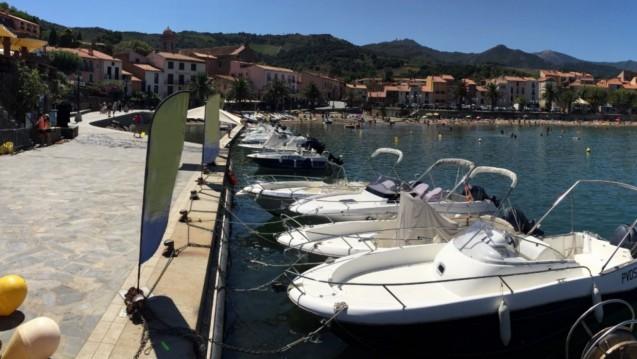Dipol Class Cala 450 zwischen Privatpersonen und professionellem Anbieter Collioure