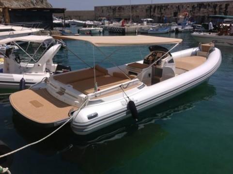 Schlauchboot mieten in Trapani zum besten Preis