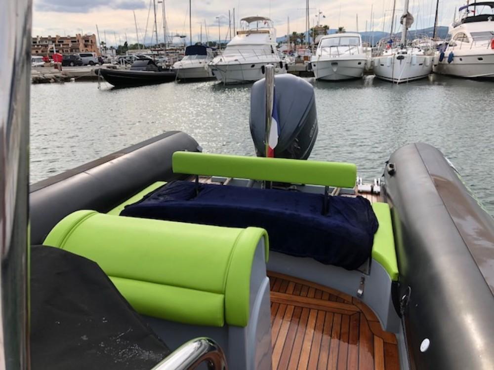 Vermietung Schlauchboot Sea Water mit Führerschein