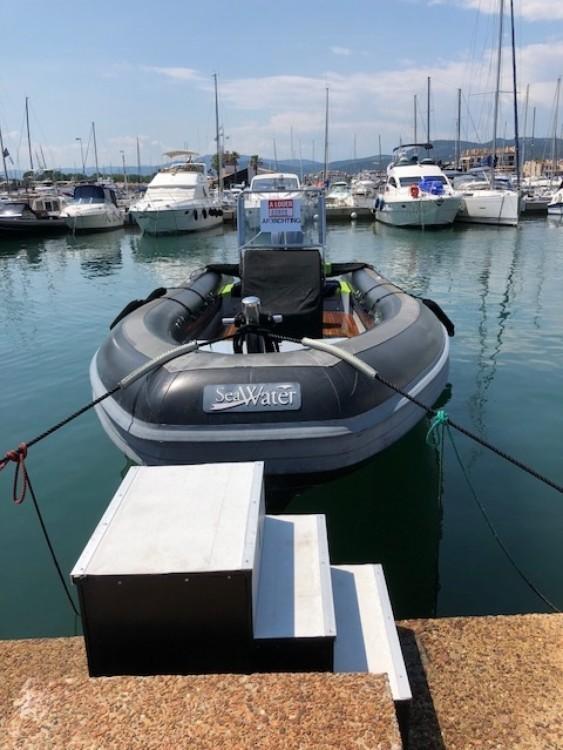 Schlauchboot mieten in Cogolin - Sea Water Seawater 300