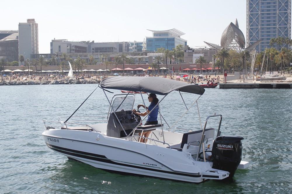 Motorboot mieten in Barcelona zum besten Preis