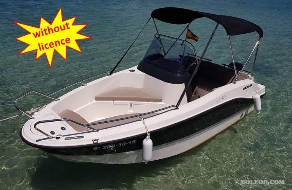 Vermietung Motorboot Boleor mit Führerschein