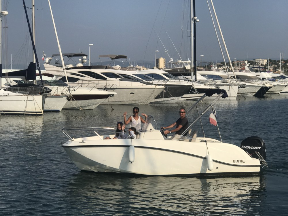 Motorboot mieten in Fréjus - Quicksilver Activ 605 Open