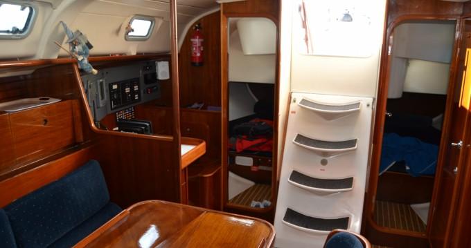 Bootsverleih Castelldefels günstig Oceanis 400