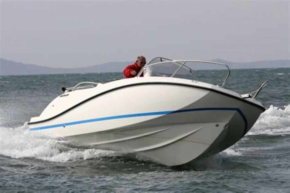 Vermietung Motorboot Quicksilver mit Führerschein