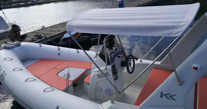 Schlauchboot mit oder ohne Skipper Kardis mieten in Pula