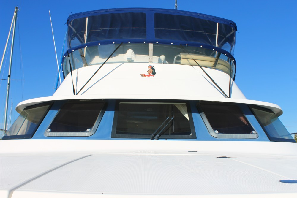 Motorboot mieten in Canet-en-Roussillon - Fountaine Pajot Cumberland 44