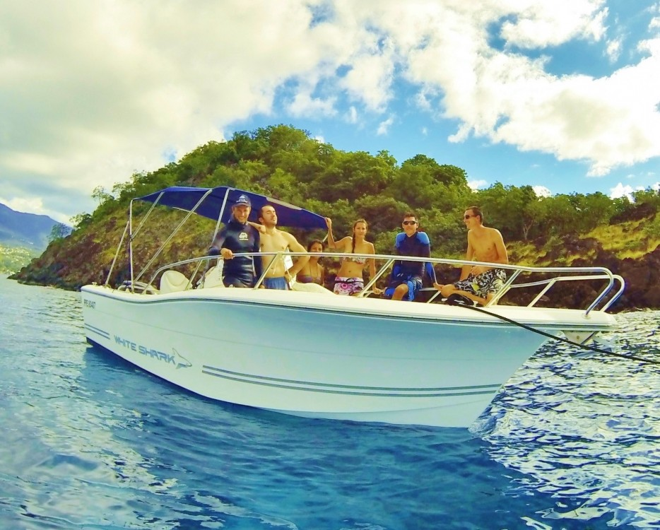 Bootsverleih Kelt White shark 226 Basse-Terre Samboat