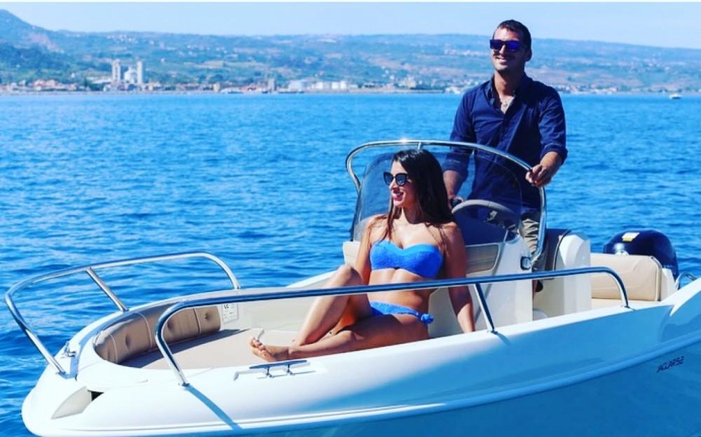 Motorboot mieten in Tropea - Ta.ma.re Jaguar 5.50