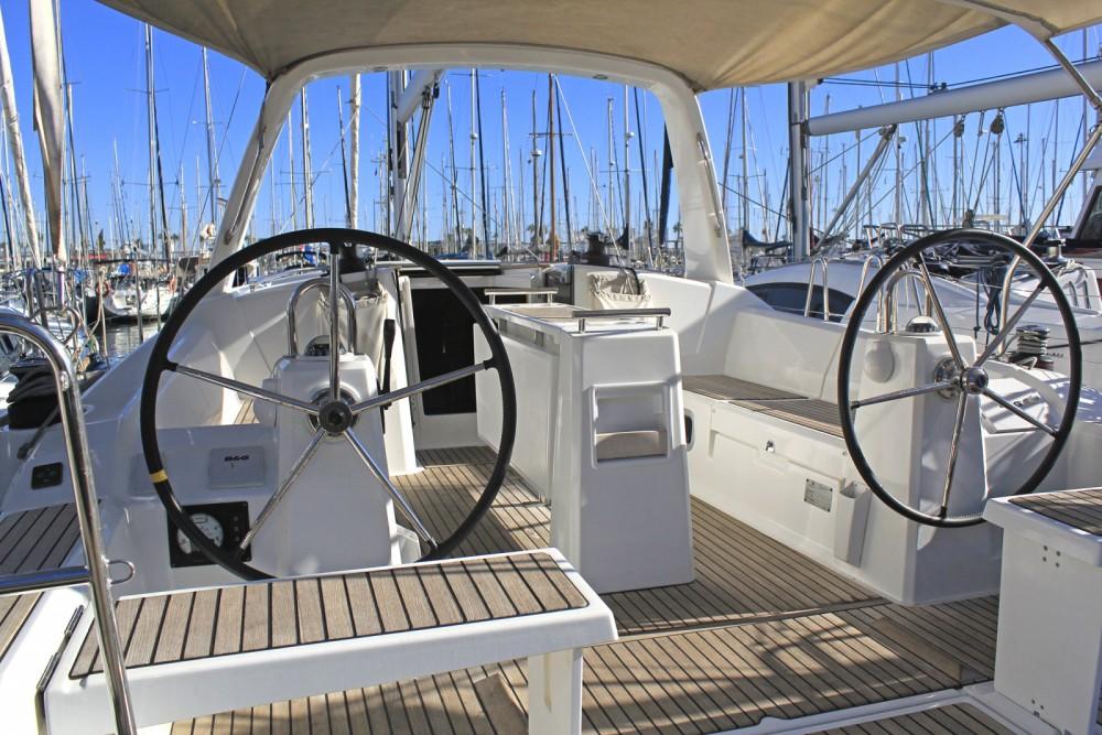 Bootsverleih Barcelona günstig Oceanis 38.1