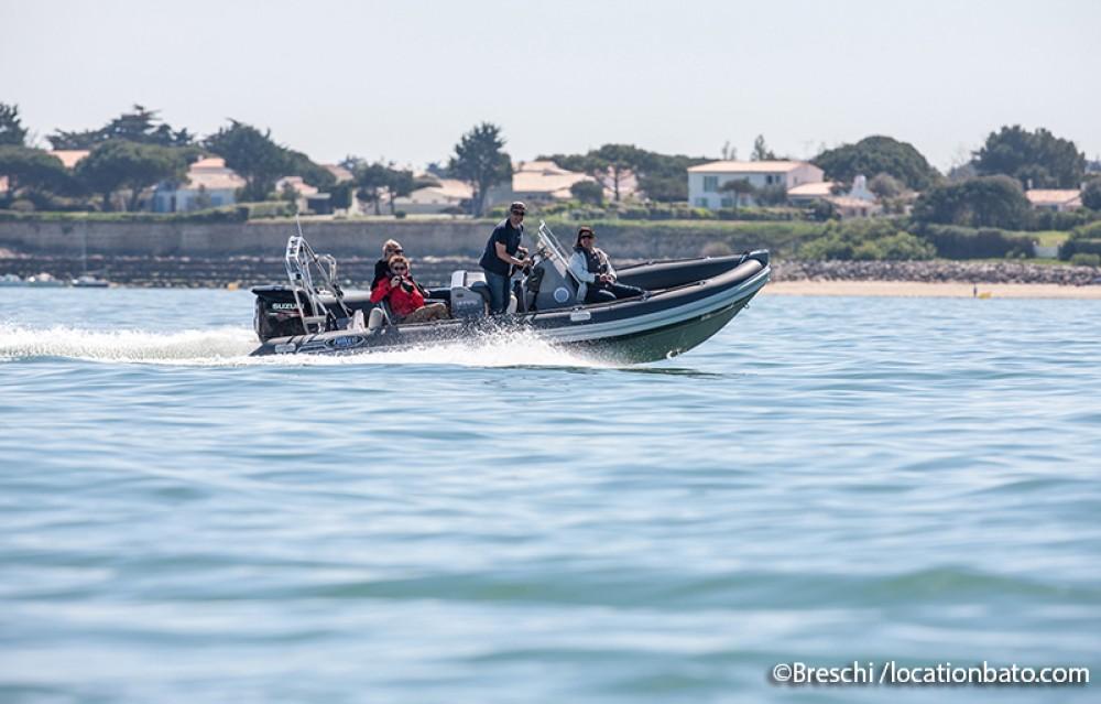 Vermietung Schlauchboot Falcon mit Führerschein