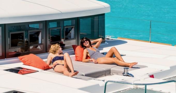 Lagoon Lagoon 52 F zwischen Privatpersonen und professionellem Anbieter Ibiza Island