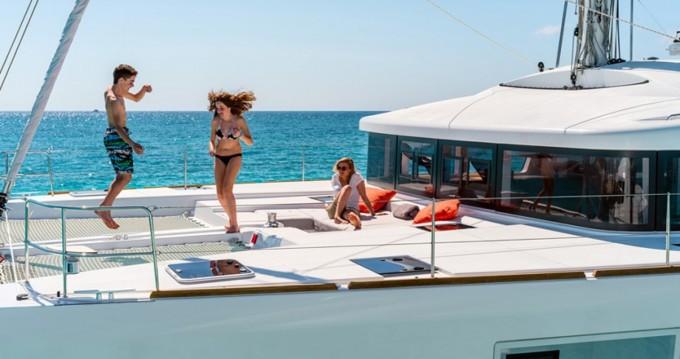Katamaran mit oder ohne Skipper Lagoon mieten in Ibiza Island