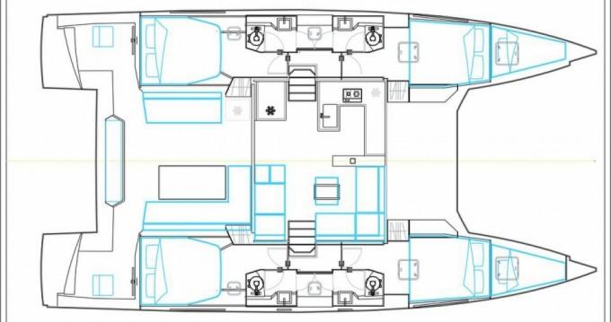 Bootsverleih Nautitech open 46 Le Marin Samboat