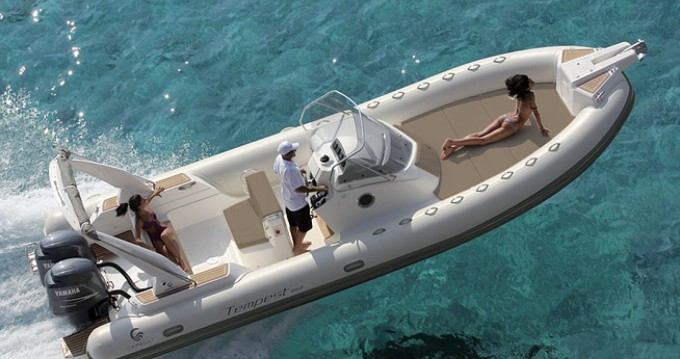 Schlauchboot mieten in Coti-Chiavari - Capelli Tempest 850 Open