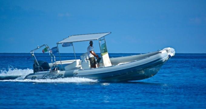 Schlauchboot mieten in Milazzo - Lomac 7.30  sport