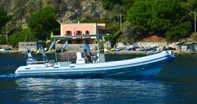 Schlauchboot mit oder ohne Skipper Lomac mieten in Milazzo