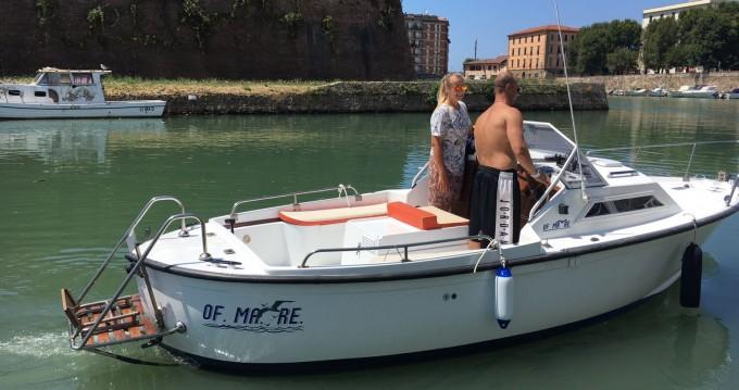 Motorboot mit oder ohne Skipper vegliatura mieten in Livorno