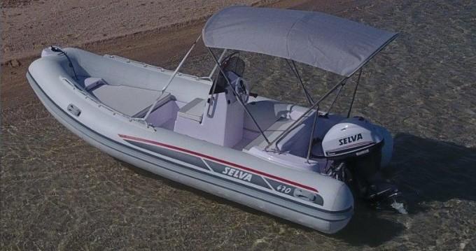 Schlauchboot mieten in Ibiza Town - Selva Selva D470 AUXILIAR O TENDER