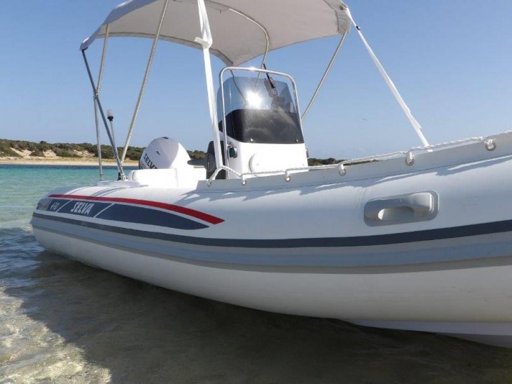 Schlauchboot mit oder ohne Skipper Selva mieten in Ibiza-Stadt