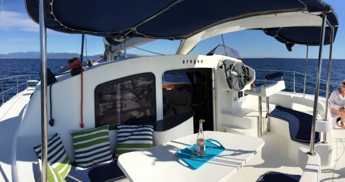 Yacht-Charter in Roses - Fountaine Pajot Lavezzi 40 auf SamBoat