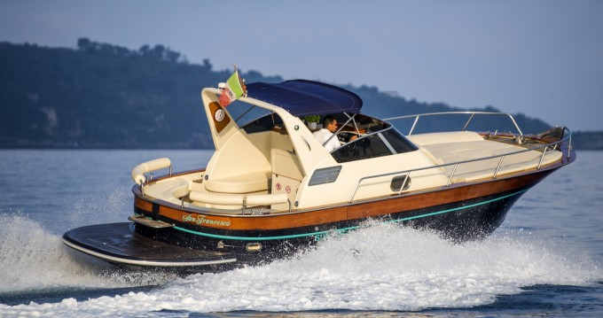 Vermietung Motorboot Acquamarina mit Führerschein