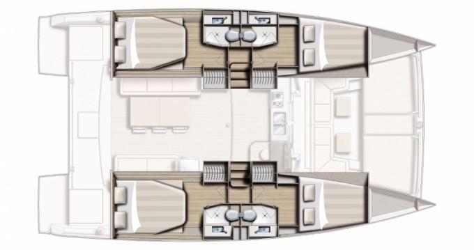 Yacht-Charter in Puerto deportivo Marina Rubicon - Bali Catamarans Bali 4.0 auf SamBoat