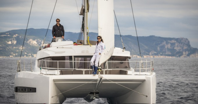 Katamaran mit oder ohne Skipper Bali Catamarans mieten in Puerto deportivo Marina Rubicon