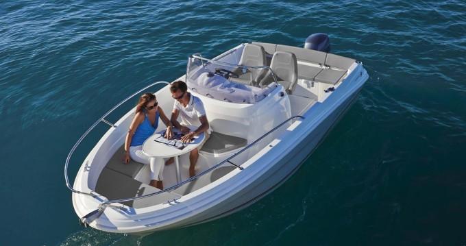 Motorboot mieten in l'Estartit - Jeanneau Cap Camarat 5.5 CC Style